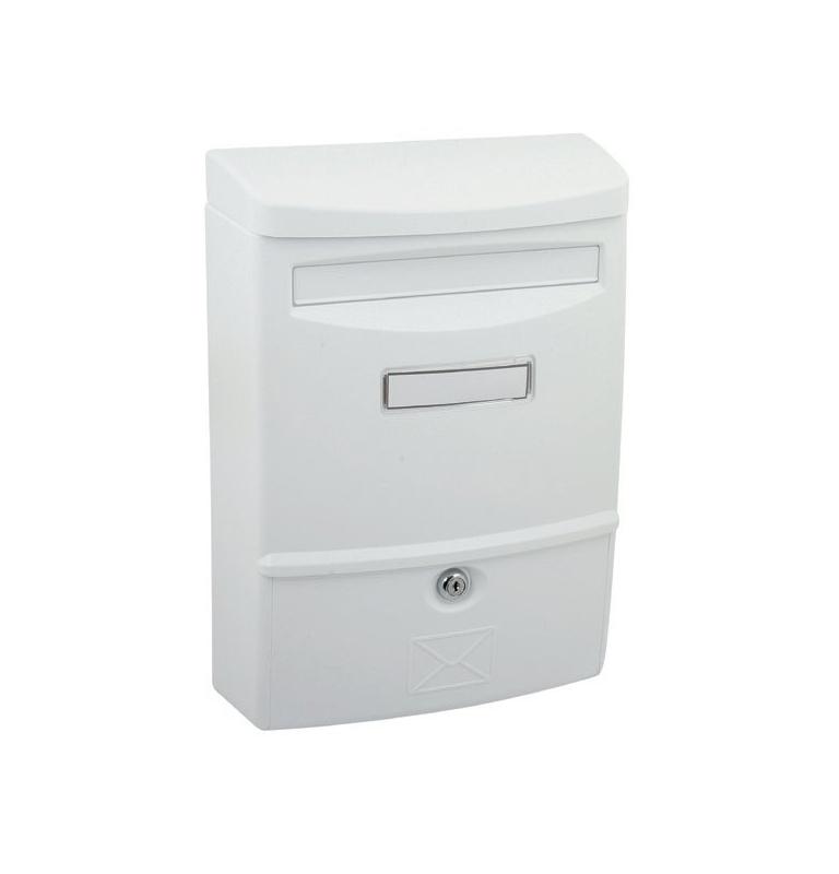 Poštovní schránka X-FEST ABS-2 - Bílá