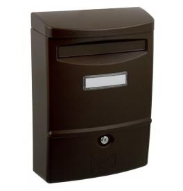 Poštová schránka X-FEST ABS-2 - Hnedá