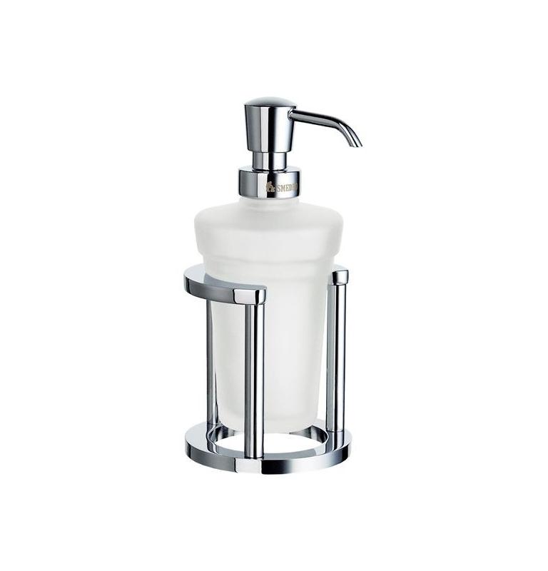 Voľne stojaca nádoba na tekuté mydlo SMEDBO Chróm lesklý