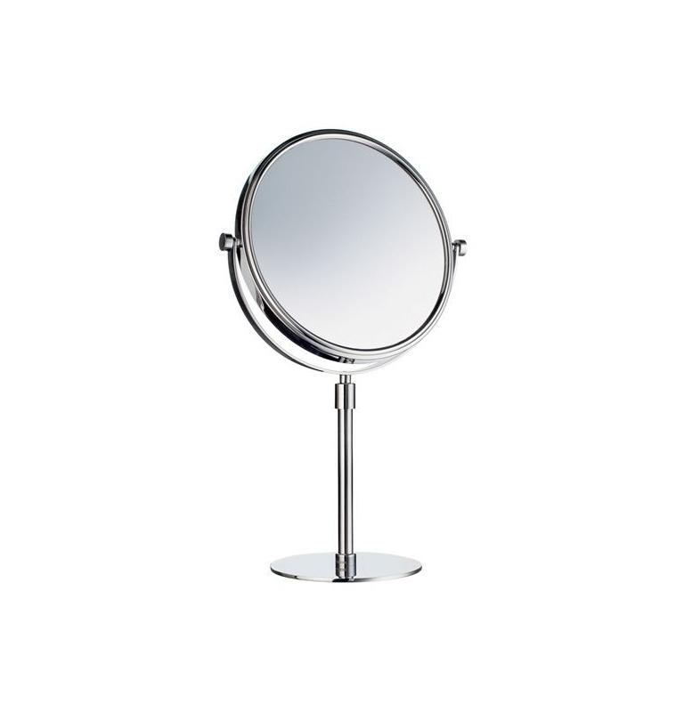 Zrkadlo zväčšovacie 3 násobné, voľne stojace SMEDBO Chróm lesklý