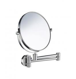 Zrkadlo zväčšovacie 5 násobné, výklopné SMEDBO Chróm lesklý