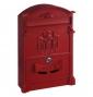 Poštovní schránka ROTTNER ASHFORD - Červená