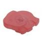 Plastová knopka Slon Ružová