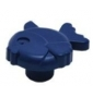 Plastová knopka Ryba Modrá