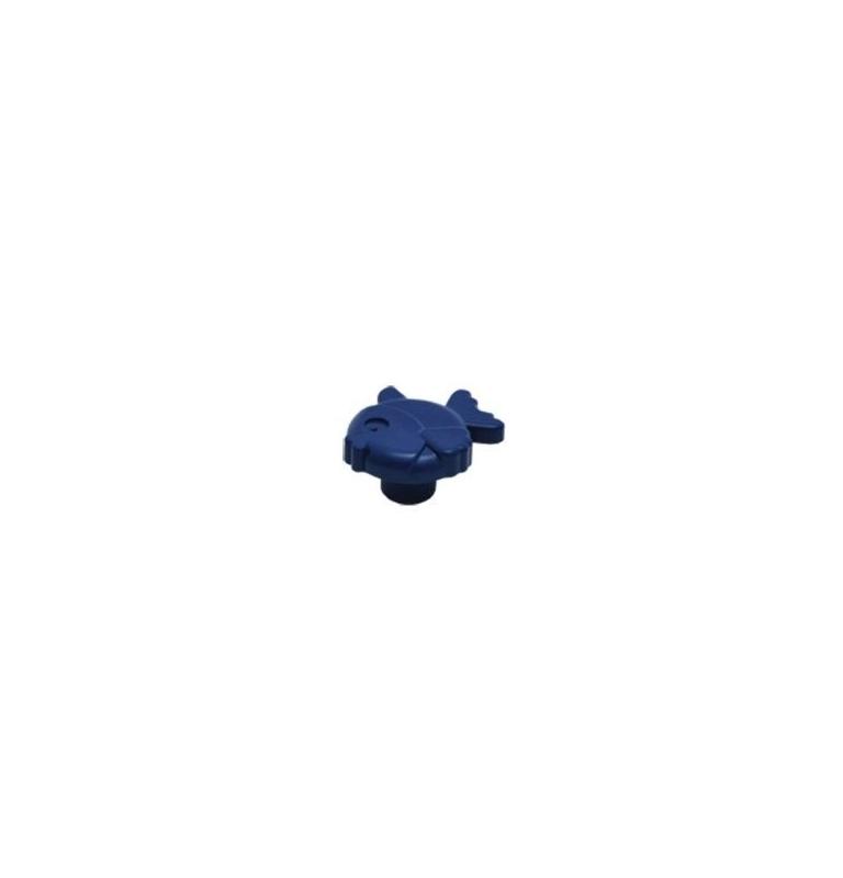 Plastová knopka Ryba