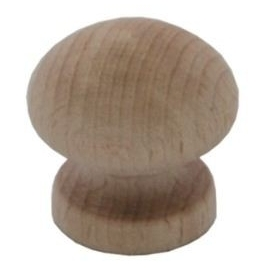 Dřevěná knopka Aachen Buk
