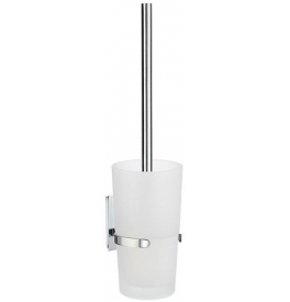 Toilet brush with glass container SMEDBO POOL ZK333