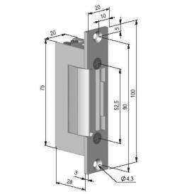 Elektrický otvárač BeFo Profi 621 5-8V s momentovým kolíkom