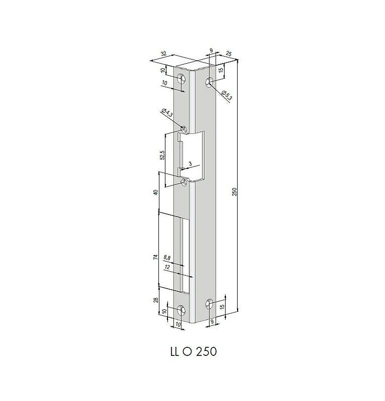 Lišta tvarovaná rohová BeFo L