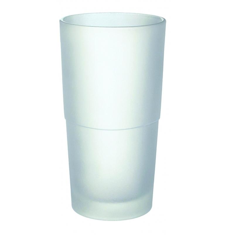 Náhradní skleněný WC pohár - matné sklo SMEDBO