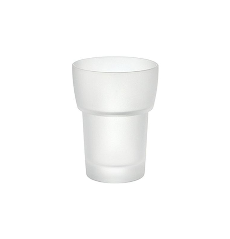 Náhradní pohár na zubní kartáčky - matné sklo SMEDBO