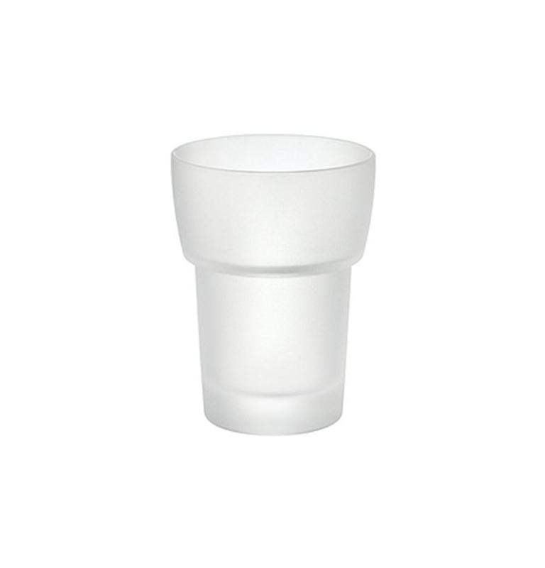 Náhradný pohár na zubné kefky - matné sklo SMEDBO