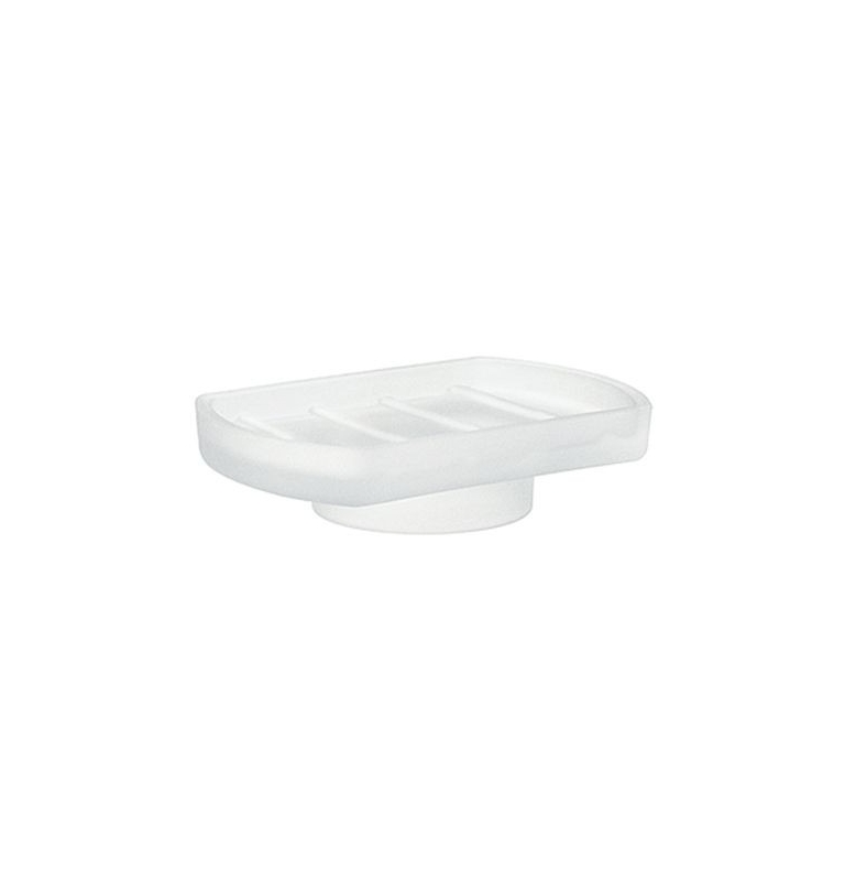 Náhradní miska na mýdlo - matné sklo SMEDBO