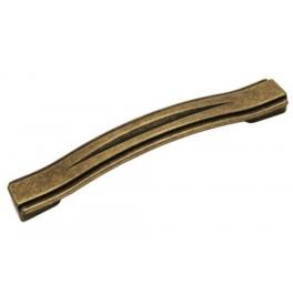 Furniture handle WMN 604 - Patina on brass