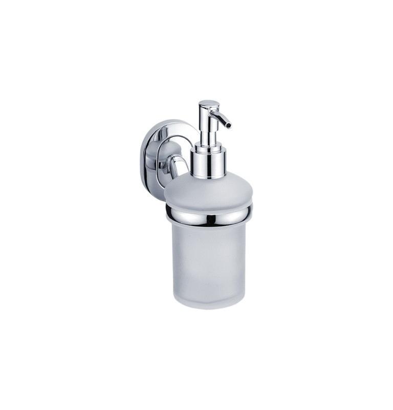 Dávkovač na tekuté mýdlo se skleněnou nádobkou NIMCO Lotus