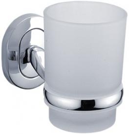 Skleněný pohár s držákem NIMCO Lotus