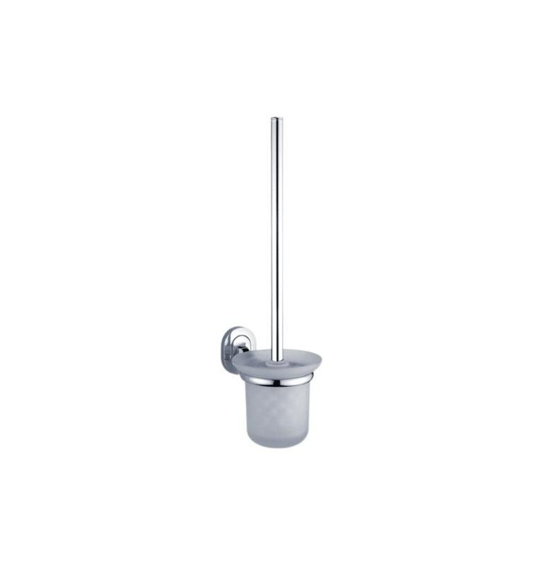 Toaletní kartáč v malé skleněné nádobě NIMCO Lotus