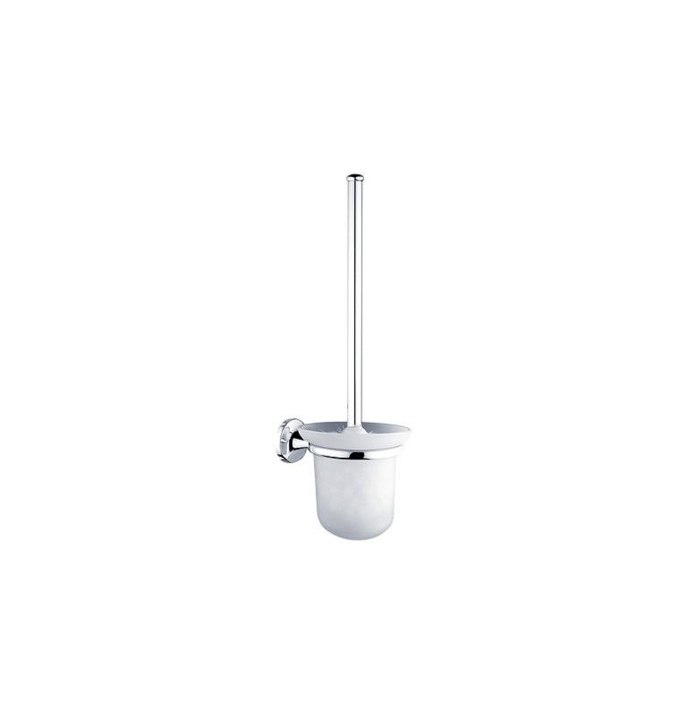 Toaletní kartáč v malé skleněné nádobě NIMCO Monolit