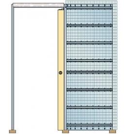 Jednokřídlové stavební pouzdro na zazdění ECLISSE