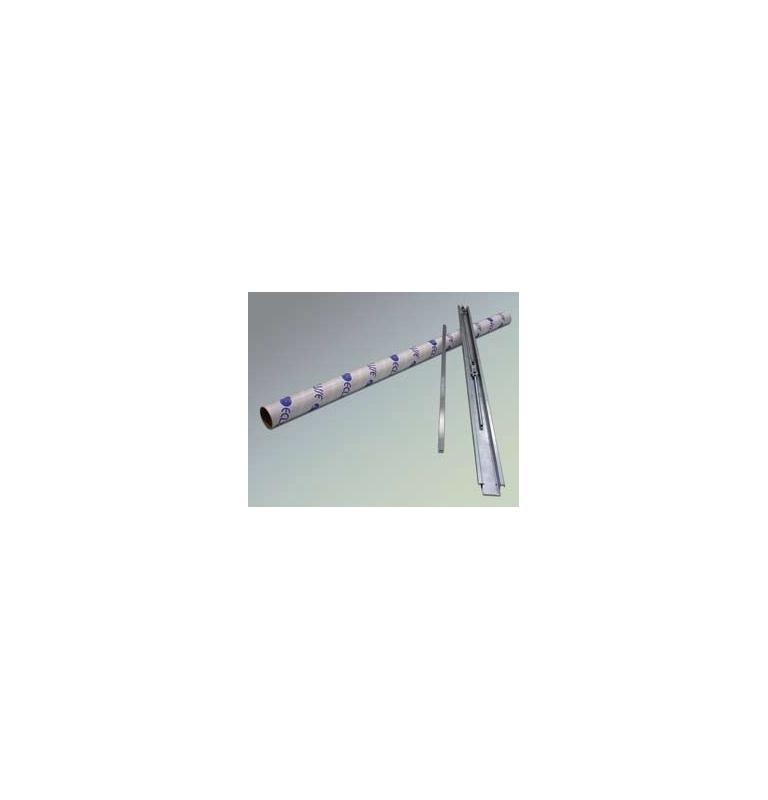 Samozatvárač jednokrídlových dverí pre stavebné púzdra ECLISSE