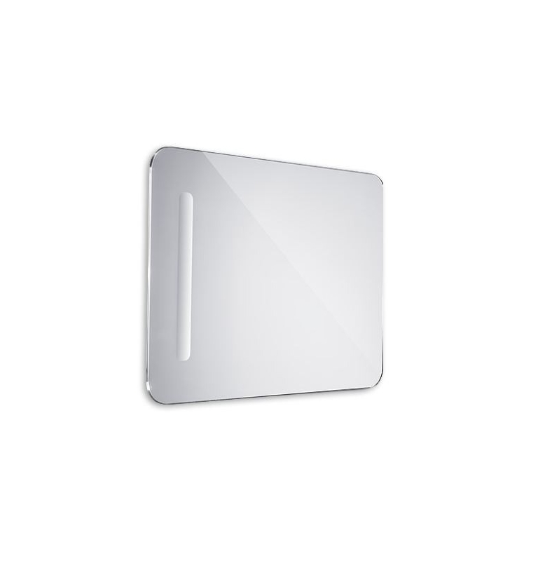 Koupelnové LED zrcadlo oblé 500x700mm