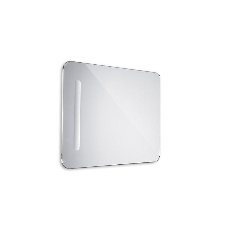 Kúpelňové LED zrkadlo oblé 500x700mm