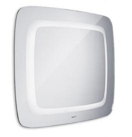 Koupelnové LED zrcadlo oblé 600x800mm