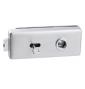 CT-18000 - OCS - Chrom broušený - BB - otvor na klíč