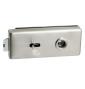 CT-18000 - ONS - Nikl broušený - BB - otvor na klíč
