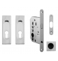 Square set for sliding doors FIMET - OC - Polished chrome