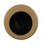 FT Kulaté madélko do čela posuvných dveří - OGS - Bronz česaný mat