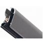 Povrchová padací lišta CO-1750COMAX - Stříbrná