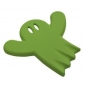 Detský nábytkový úchyt Strašidielko Zelené
