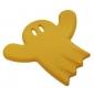 Detský nábytkový úchyt Strašidielko Žlté