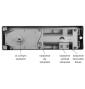 Podlahový samozatvárač GEZE TS 500 NV 1-4